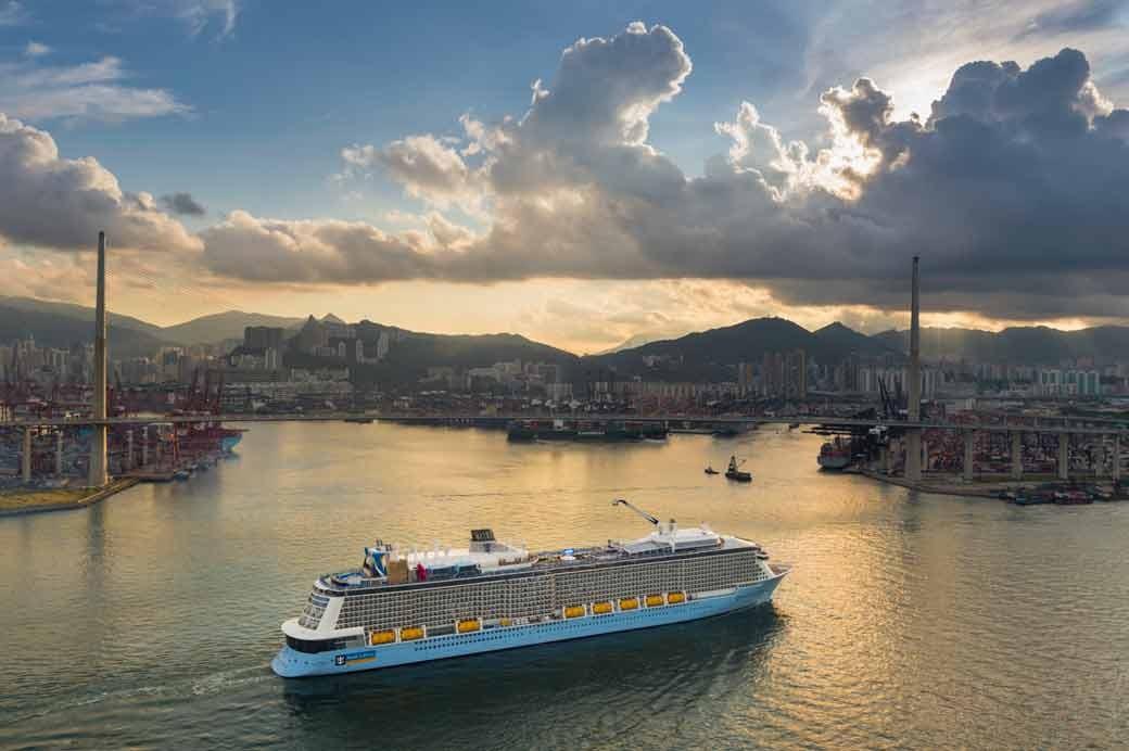 Quantum of the Seas arrives in Hong Kong | Royal Caribbean ...