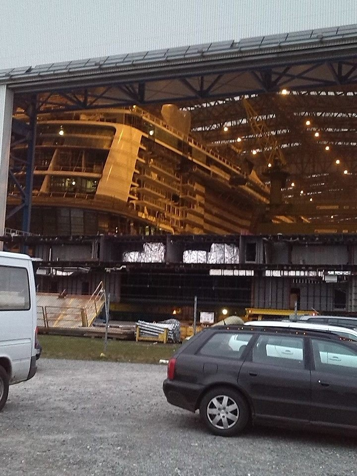 Quantum of the Seas construction photo update | Royal ...