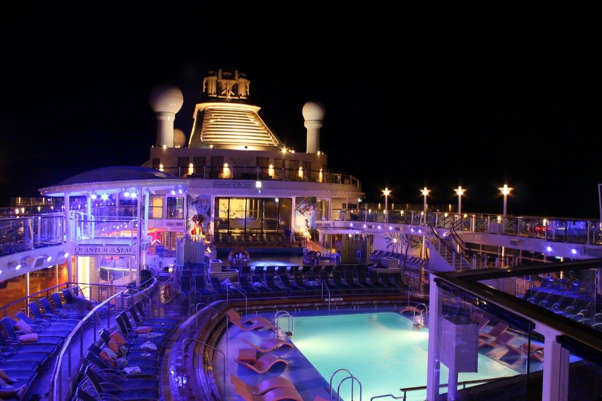 Quantum Of The Seas Night Photos Royal Caribbean Blog