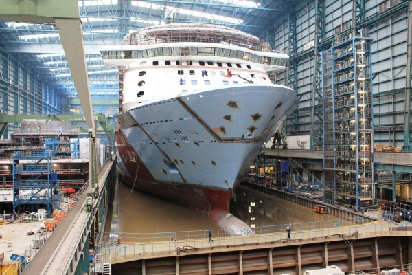 Quantum of the Seas | Royal Caribbean BlogQuantum Of The Seas Float Out