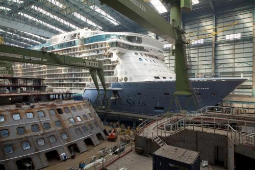 Quantum of the Seas float out delayed for a few days ...Quantum Of The Seas Float Out