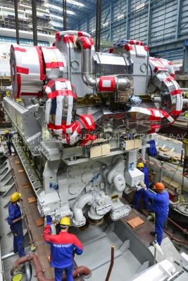 Photos Engines Arrive For Royal Caribbean S Quantum Of