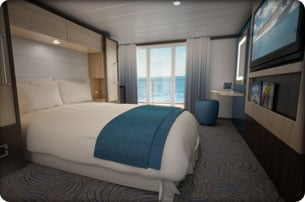 99 days of quantum single cabin staterooms royal for Royal caribbean solo cabins
