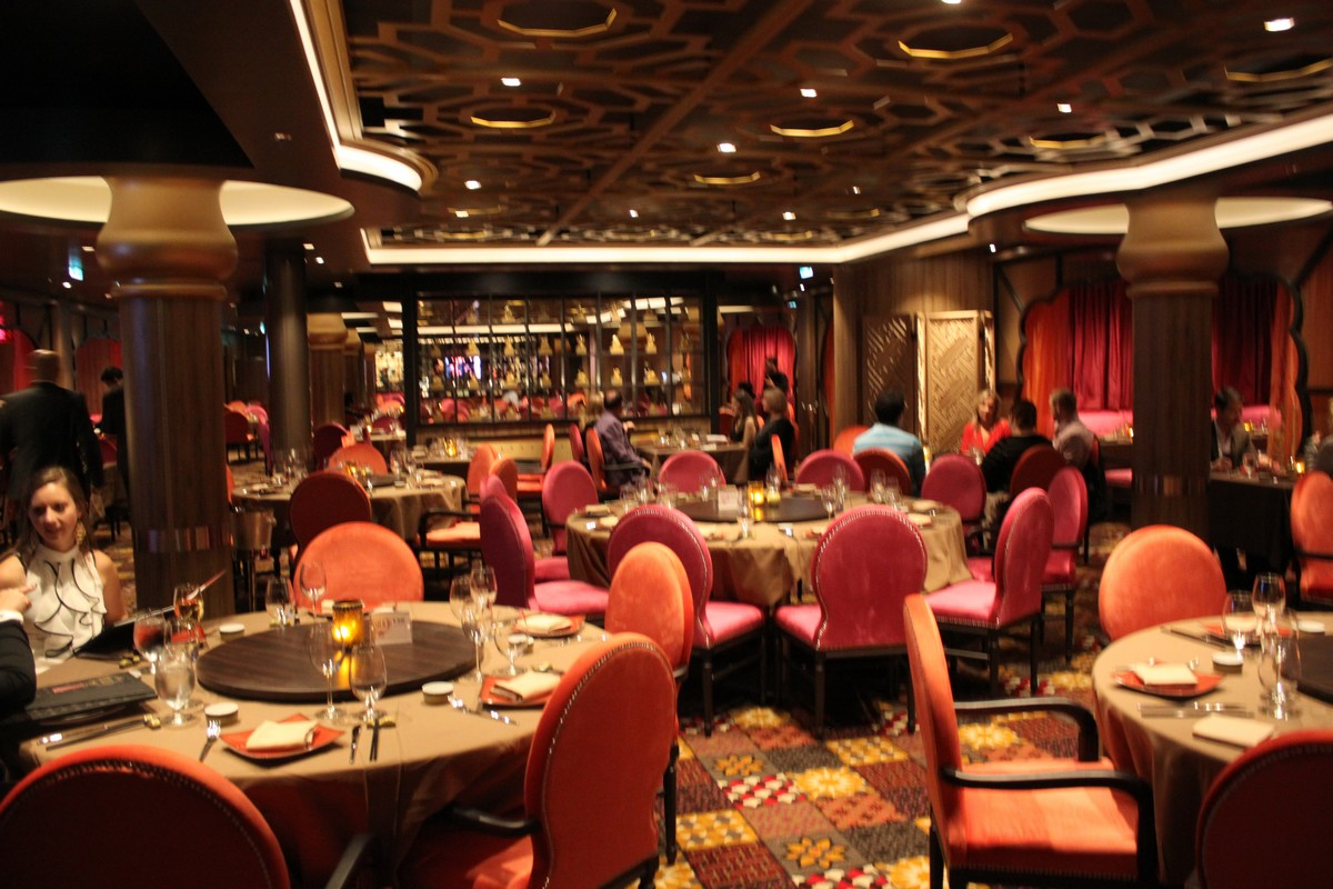 Restaurant review silk on quantum of the seas royal for The restaurant