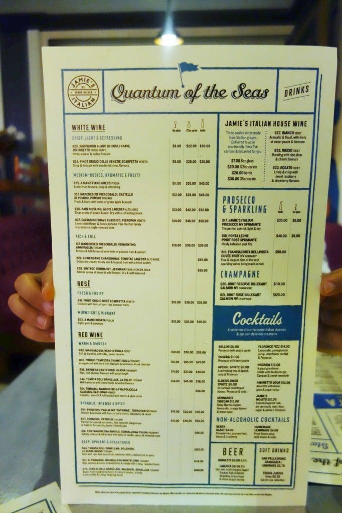 Oasis Cafe Dinner Menu