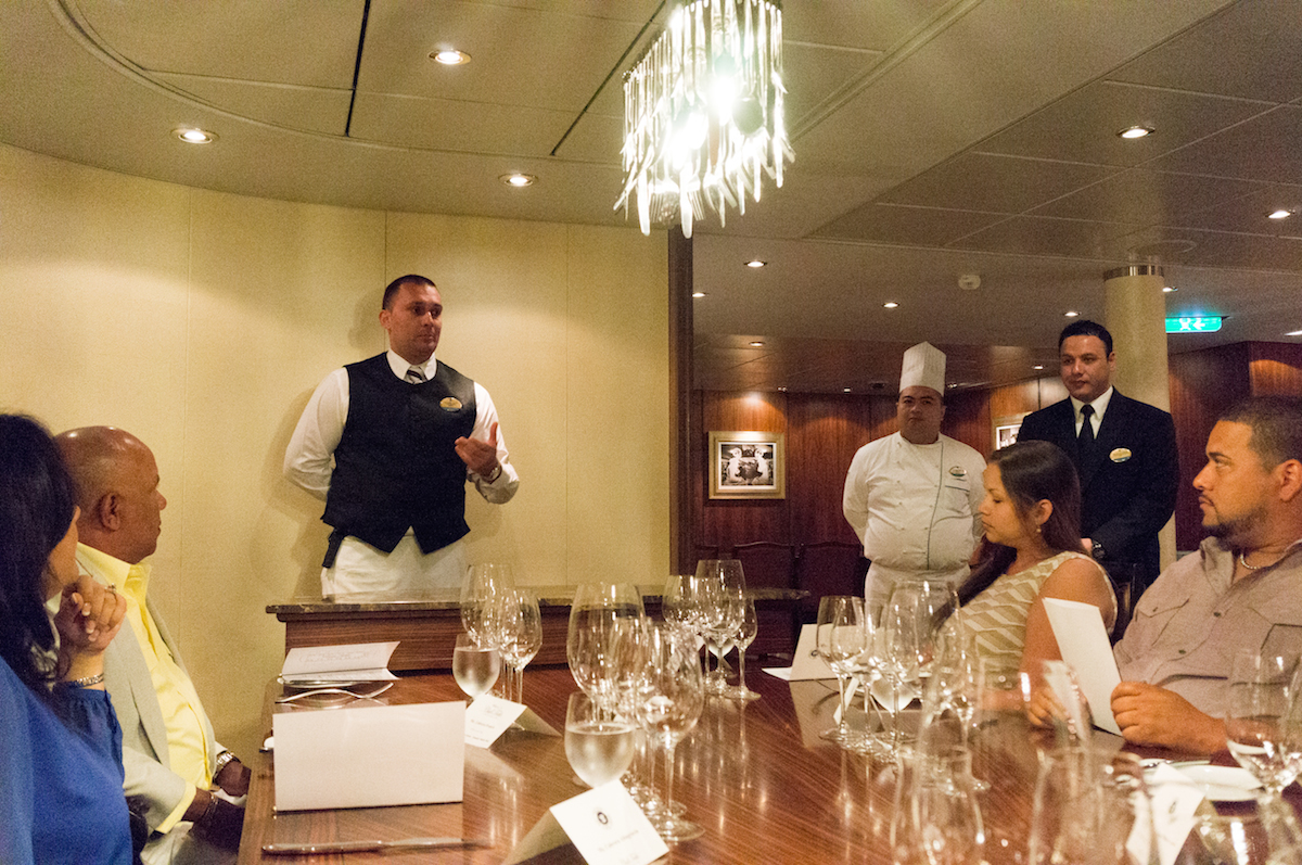 Guest Review Chef S Table On Oasis Of The Seas Royal