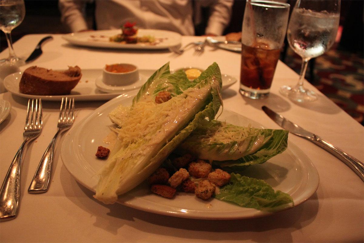Restaurant Review Chops Grille Royal Caribbean Blog