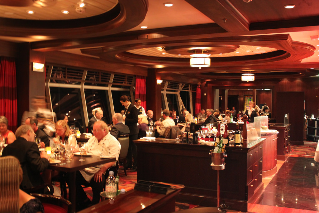 Restaurant Review Chops Grille On Navigator Of The Seas