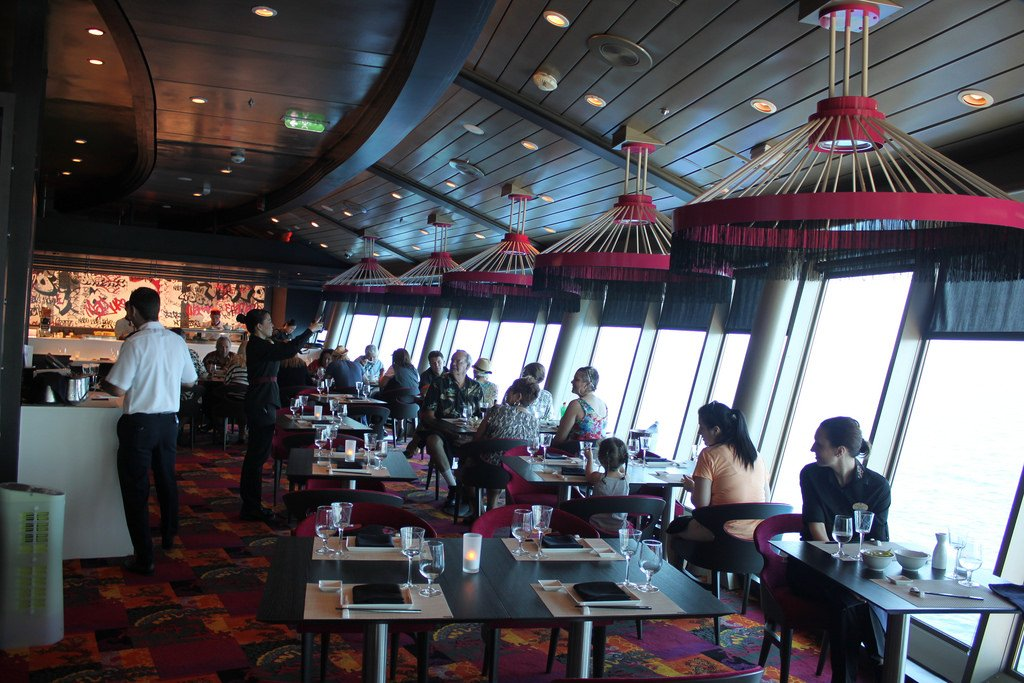 Restaurant Review Izumi On Navigator Of The Seas Royal