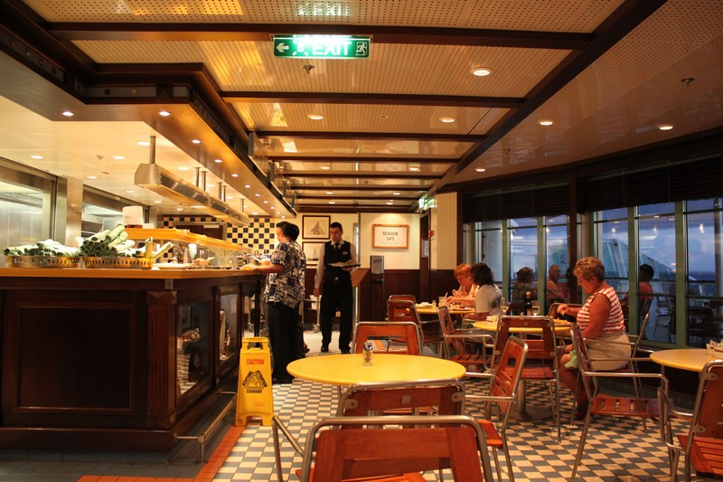 Restaurant Review Seaview Cafe Royal Caribbean Blog