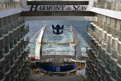 99 Days Of Harmony Harmony Of The Seas Tests Her Engines