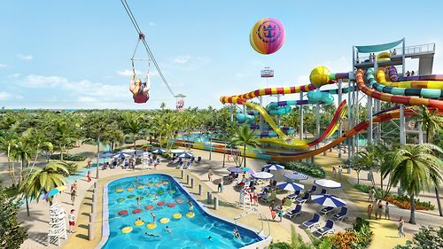 Image Result For Map Of Coco Cay Royal Caribbean