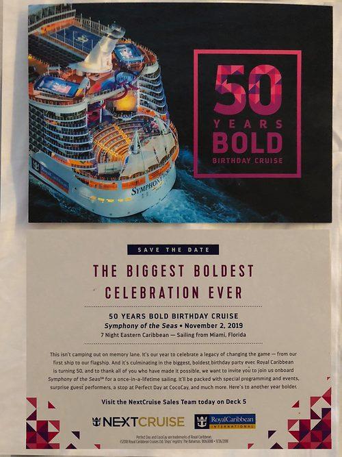 Royal Caribbean Announces 50th Birthday Cruise Celebration In 2019 Royal Caribbean Blog