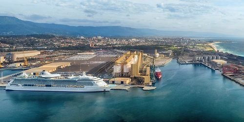 Royal Caribbeans Radiance Of The Seas Makes Maiden Call To - Radiance of the seas