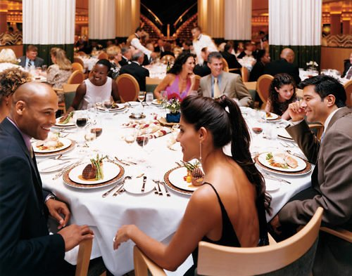 Oasis Of The Seas Main Dining Room Dinner Times