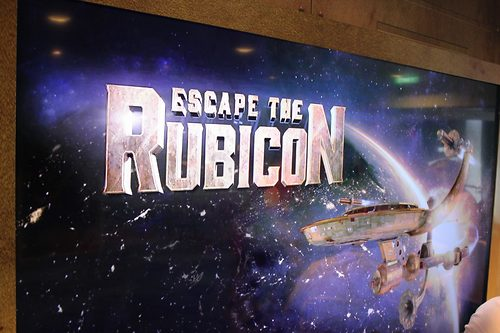 Beat The Clock and Escape The Rubicon