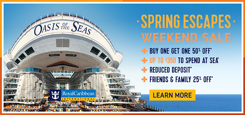Royal Caribbean Weekend Sale Offers Deals On Spring Cruises On - Caribbean cruises deals
