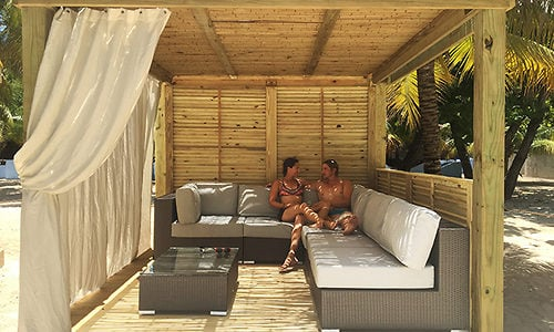 Spotted Beach Bungalows On Royal Caribbean S Labadee