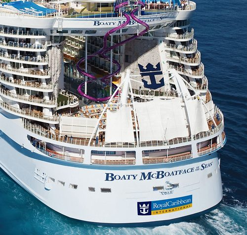 Royal Caribbean Owns A Trademark On Of The Seas