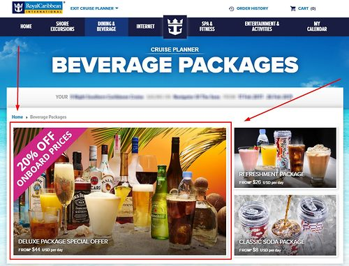 Answers to 10 commonly asked Royal Caribbean drink package questions