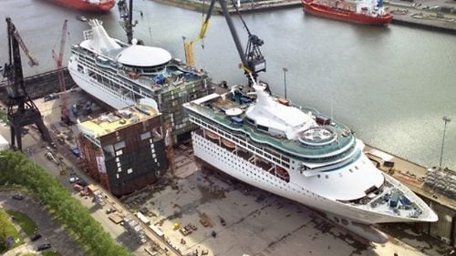 Enchantment Of The Seas Has Been Stretched