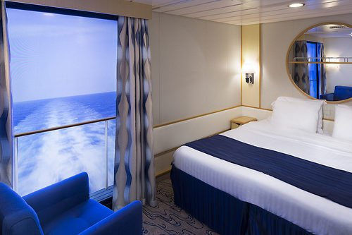 Royal Caribbean Rethought What An Inside Stateroom Could Be When It Came Up  With Its Virtual Balcony Staterooms.