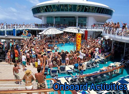 Royal Caribbean Cruise Activities Pics  Punchaoscom