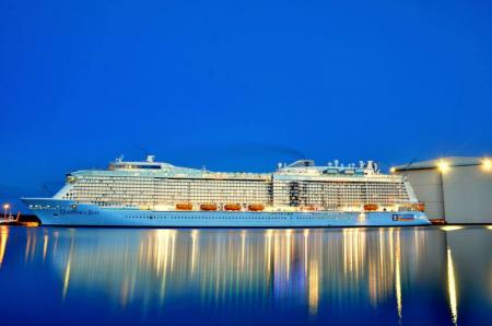 99 days of Quantum: Beautiful float out photos of Quantum ...Quantum Of The Seas Float Out