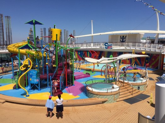 Royal Caribbean To Add Waterslides Aqua Park And New