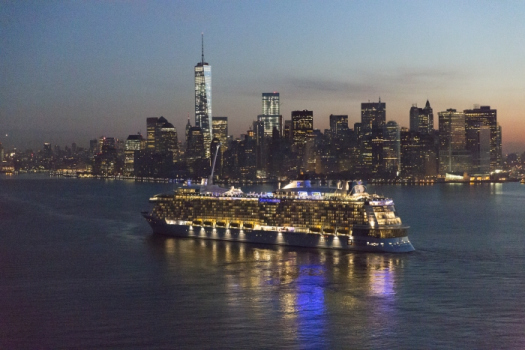 Photos Of Quantum Of The Seas In New York Harbor Royal