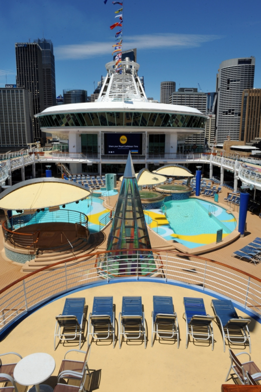 Photos inside Royal Caribbeans refurbished Voyager of the