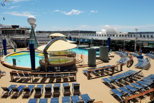 Photos Inside Royal Caribbean S Refurbished Voyager Of The