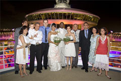 Royal caribbean offers new weddings at sea royal for Royal caribbean cruise wedding